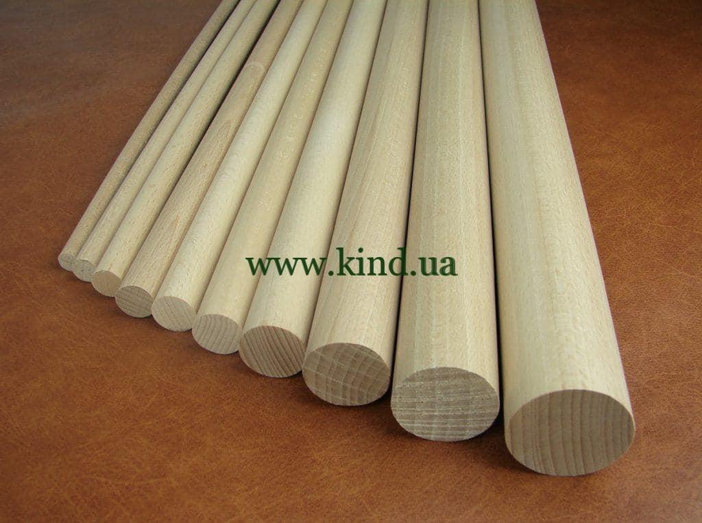 Деревянные цилиндры разного диаметра
