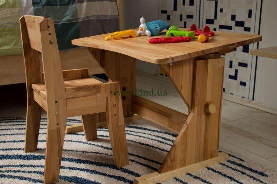 Недорогая детская деревянная мебель в Украине
