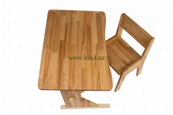 Деревянная парта со стульчиком