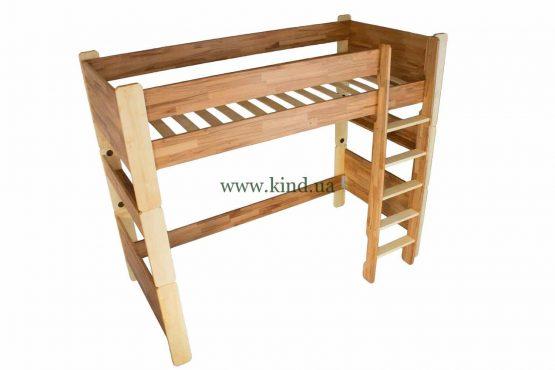 Детская кровать чердак деревянная