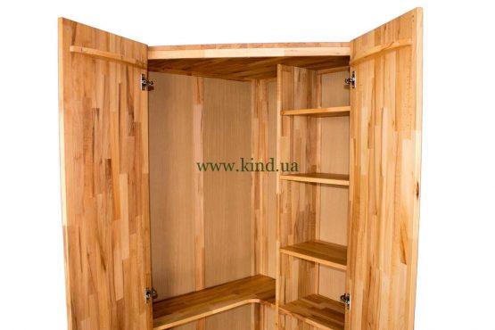 угловой шкаф для одежды и игрушек