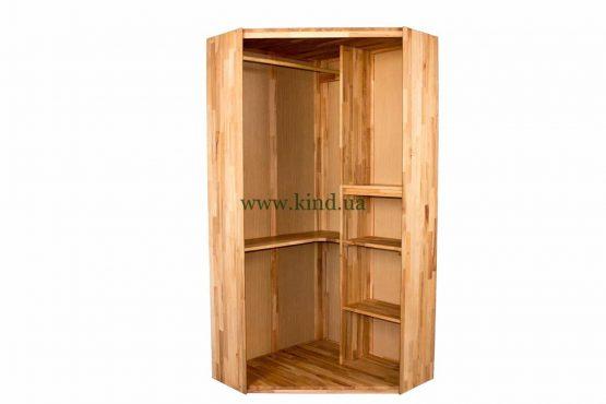 Купить угловой шкаф из дерева
