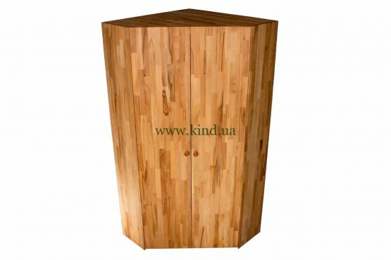 Угловой шкаф деревянный