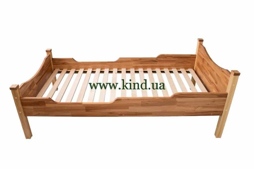 Недорогая детская кроватка из дерева