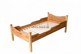 Деревянная кровать для детей с решёткой