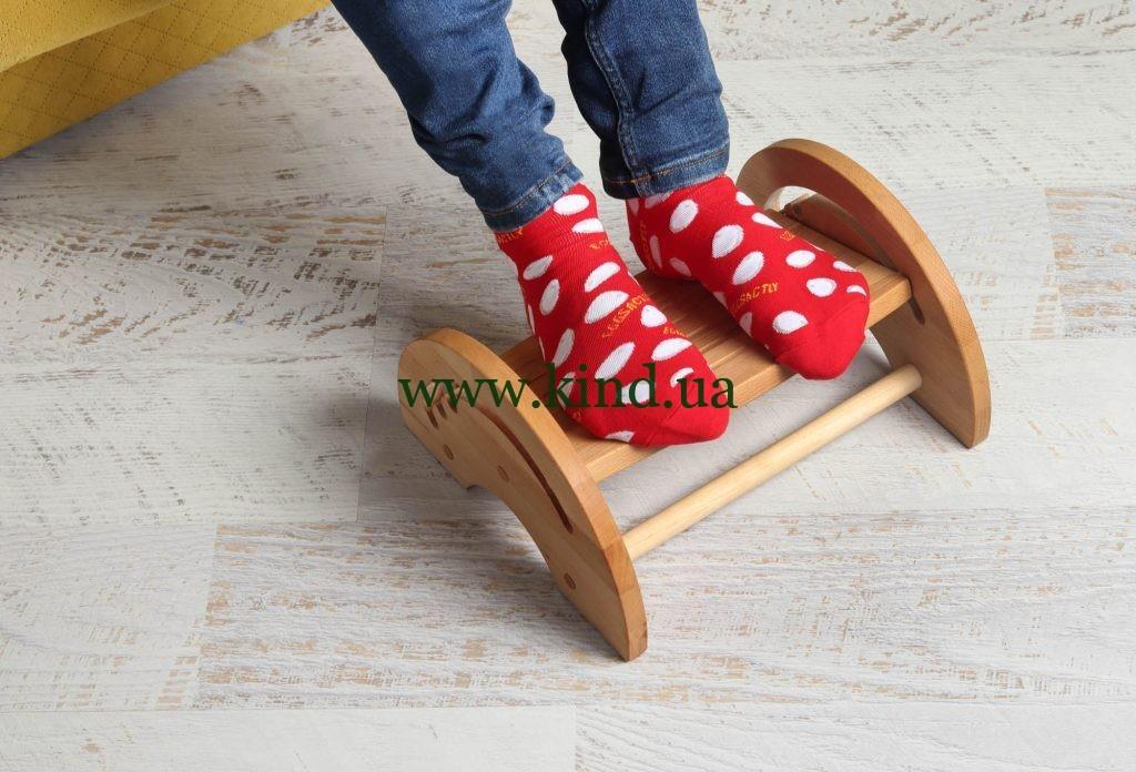 Деревянная Регулируемая подставка для ног