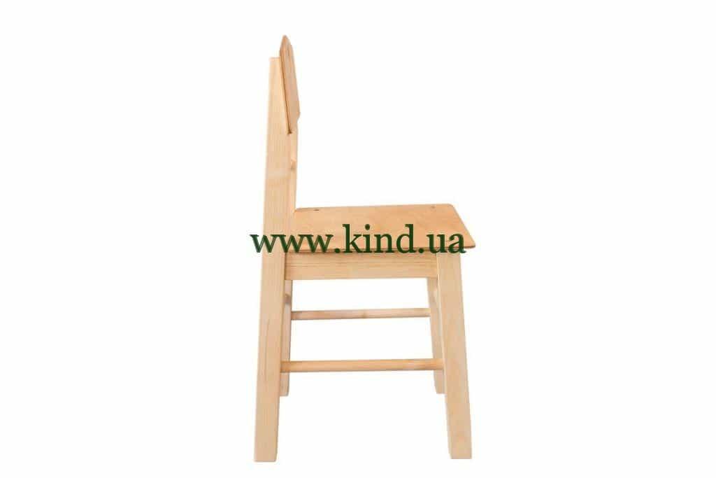 Стульчик для детского сада из дерева