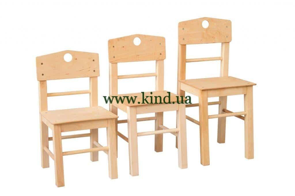 Детские стульчики из дерева