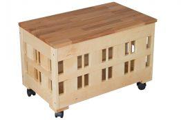 Детский ящик для игрушек на колёсиках