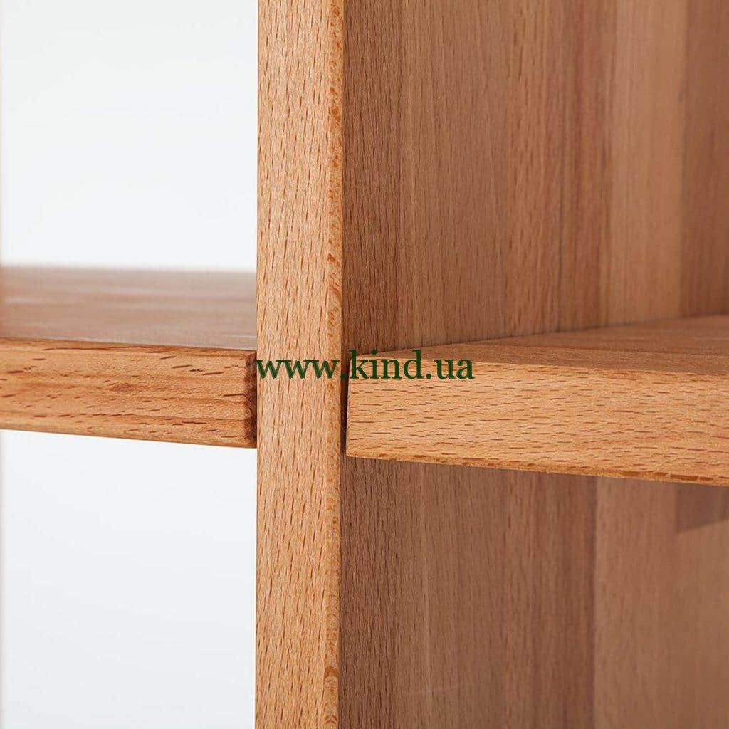 Деревянные детали стеллажа из бука