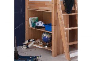 стеллаж под детской кроватью