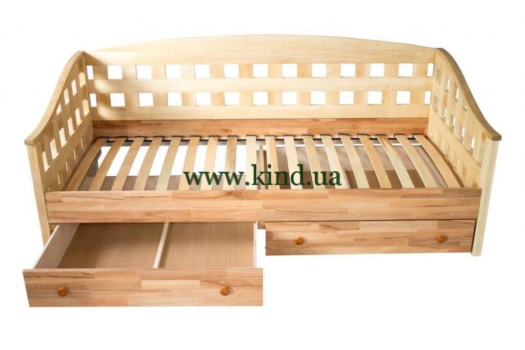 Кровать диван из дерева