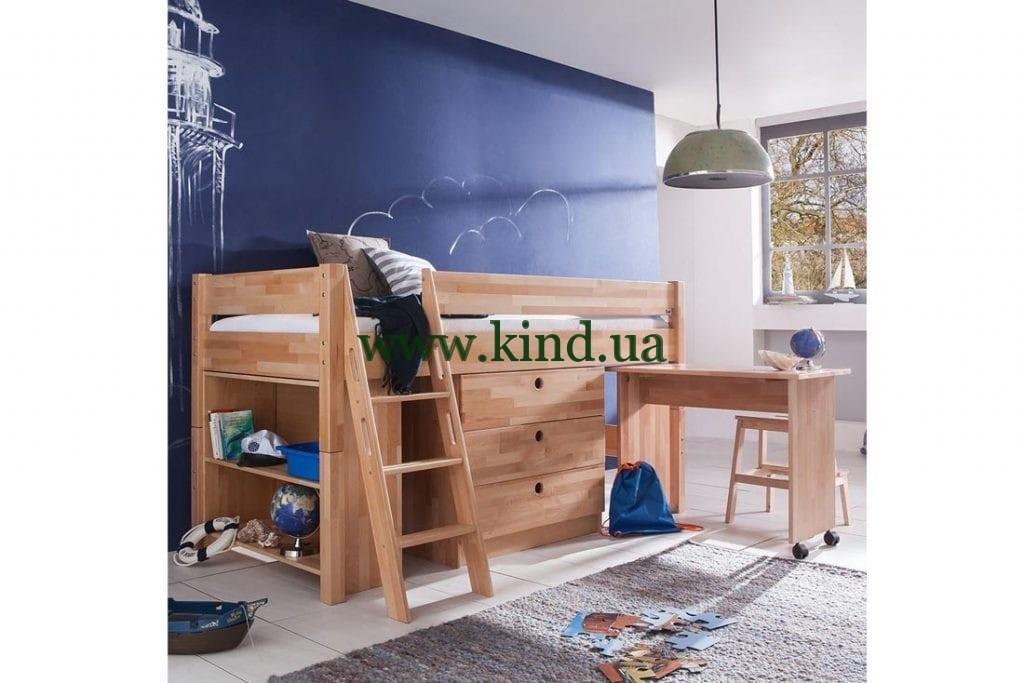 Настоящая детская кровать - комплекс