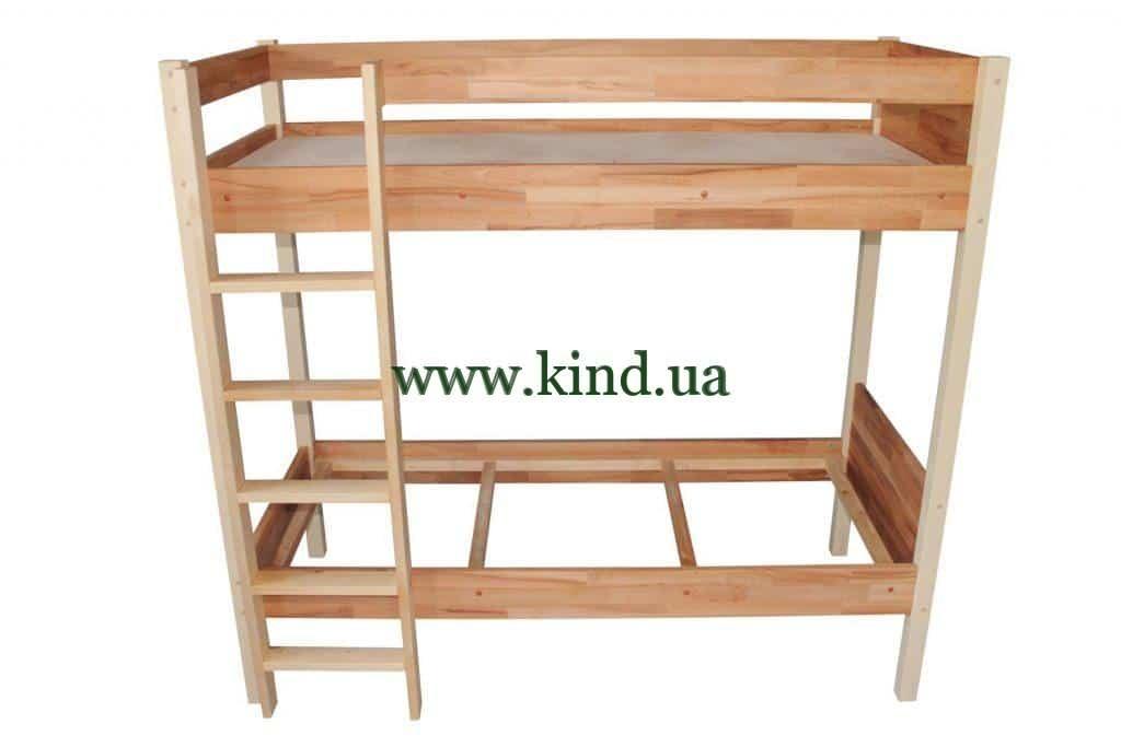 """Двухъярусная кровать для детского сада """"МИШЭЛЬ"""""""