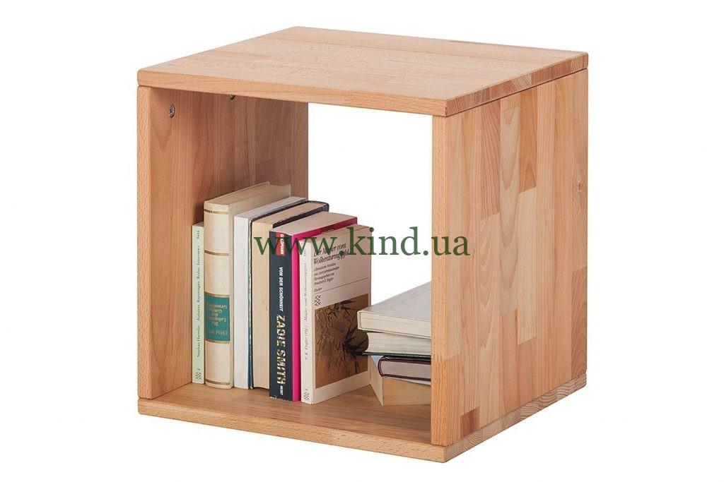 Деревянная полочка куб АРИС