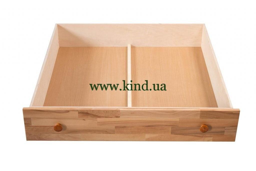 Выдвижной ящик для кровати на колёсах