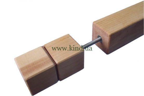 Деревяный столик нога