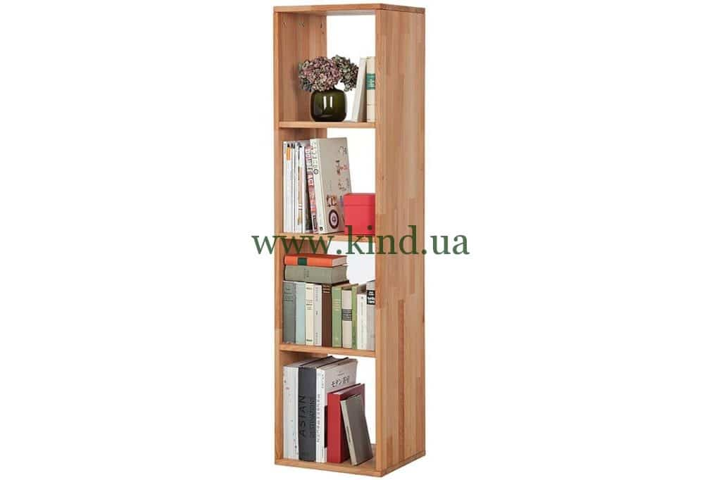 Деревяный стелаж для книг