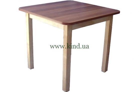 Детский столик из натурального дерева