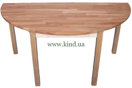 Деревяный притенный столик