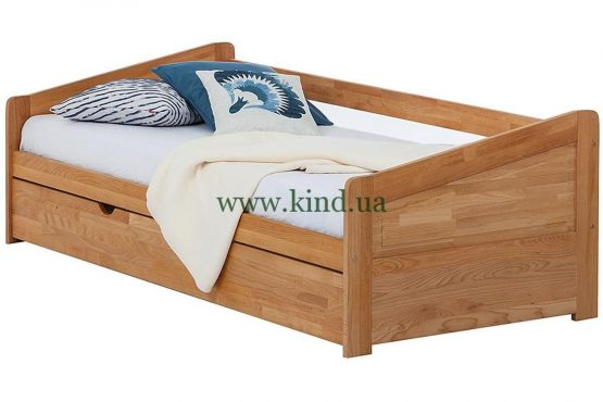 Деревяная раздвижная кровать