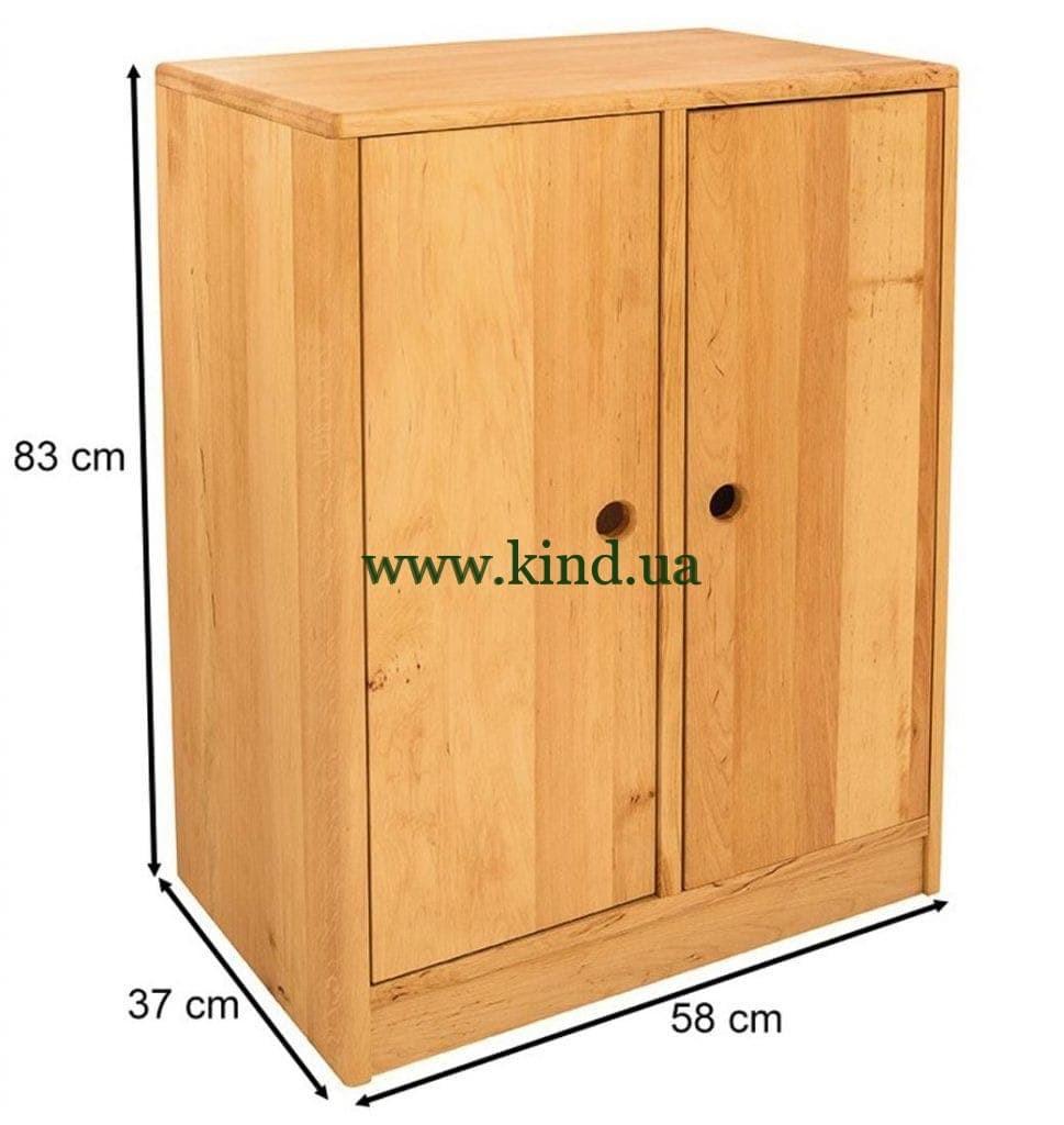 Узкий шкаф органайзер с дверцами
