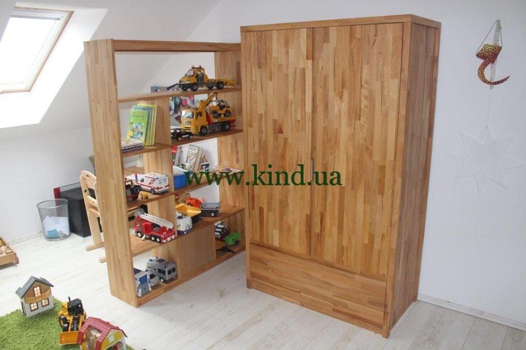 Детский шкаф из дерева от производителя