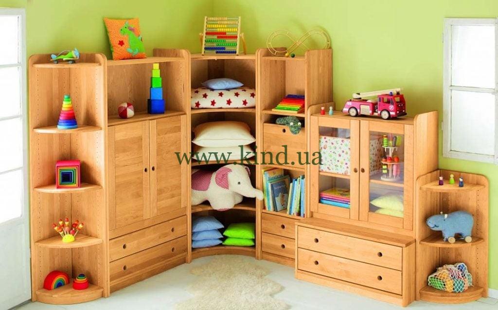 Детская деревянная мебель КИНД