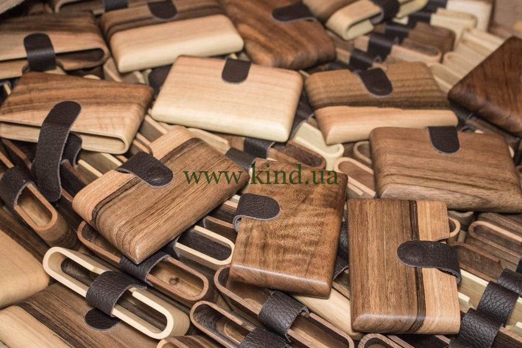 деревянные кошельки