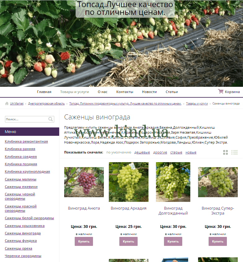 todsad.com.ua - Говнокачество по низким ценам